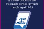 text a nurse