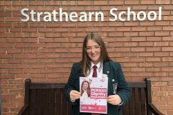 Ellie Massey - period poverty campaigner