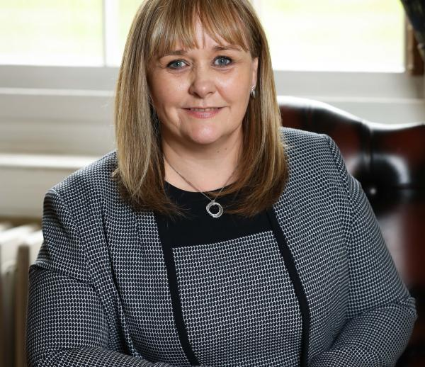 Photograph of the Education Minister M McIlveen