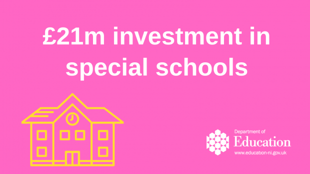 £21M  investment in special schools.