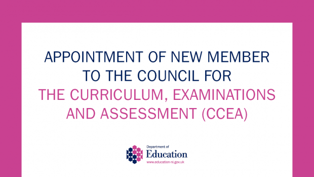 appointment of new member to the council for the curriculum, examinations and assessments