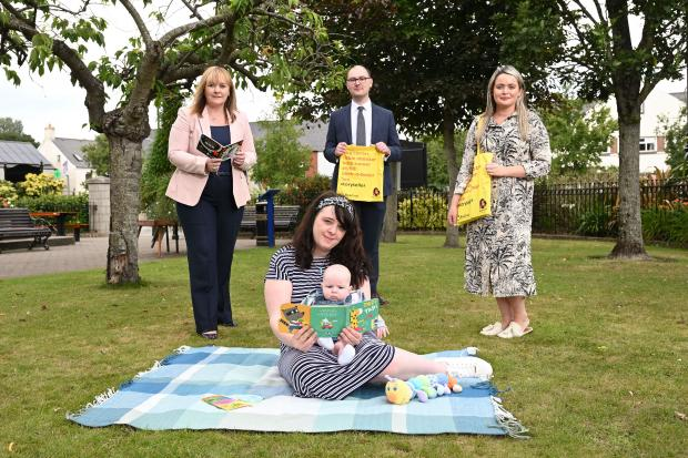Bookstart Baby programme to be part-funded by the Department