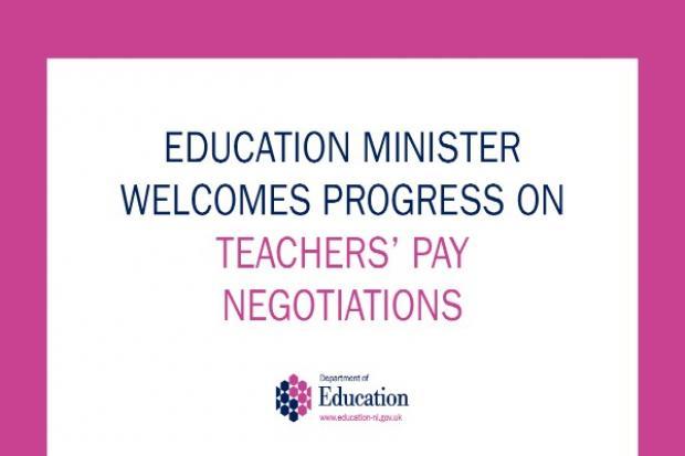 Teachers pay negotiations
