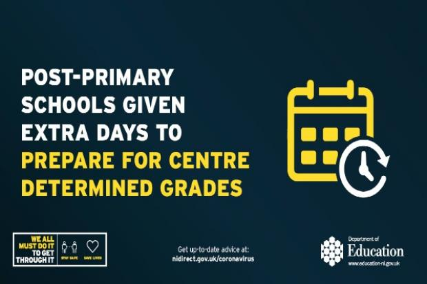 Post-primary schools given extra days to prepare for Centre Determined