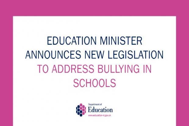 legislation to address bullying in schools
