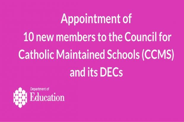 CCMS appointments