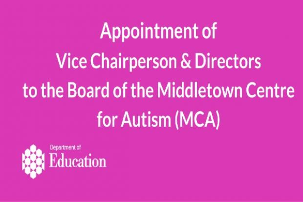 Appointments to Middletown Centre for Autism