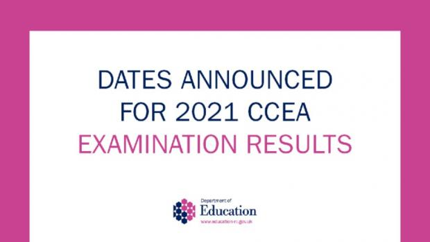 Dates for CCEA Exams results